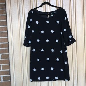 Kate Spade black polka dot dress